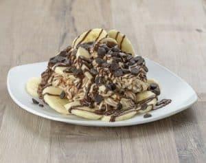 Spaghettibecher Nutella-Banane NUG