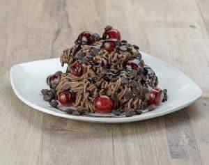 Spaghettibecher Schoko-Kirsch NUV